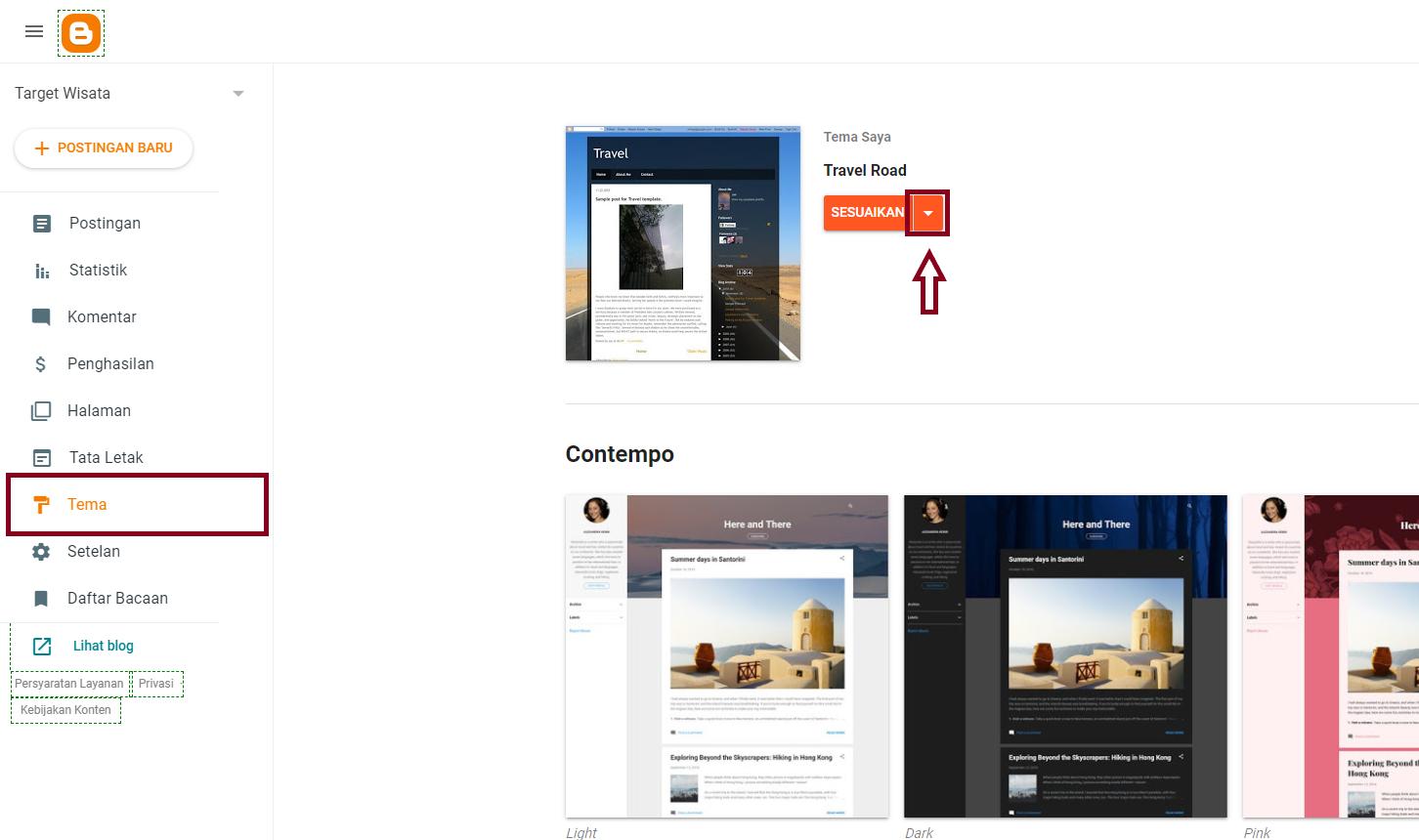 Cara Mengganti Template Blog Dengan Template Hasil Download