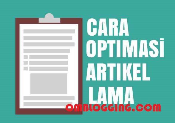 optimasi artikel lama