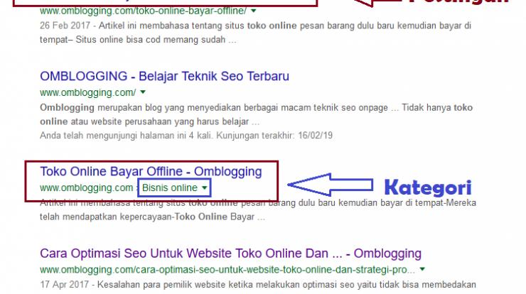 kategori dan tag