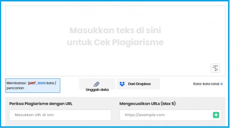 Plagiarisme Online Checker Gratis